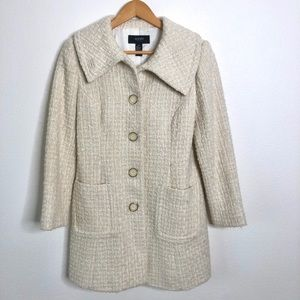 Alfani Wool Peacoat Coat